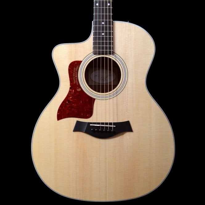 Taylor 214ce Left Handed Grand Auditorium Electro Acoustic With Cutaway In Natural