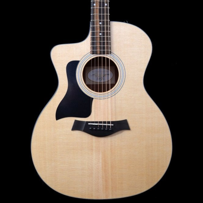 Taylor 114ce Solid Top Electro Acoustic Guitar Left-Handed With Cutaway