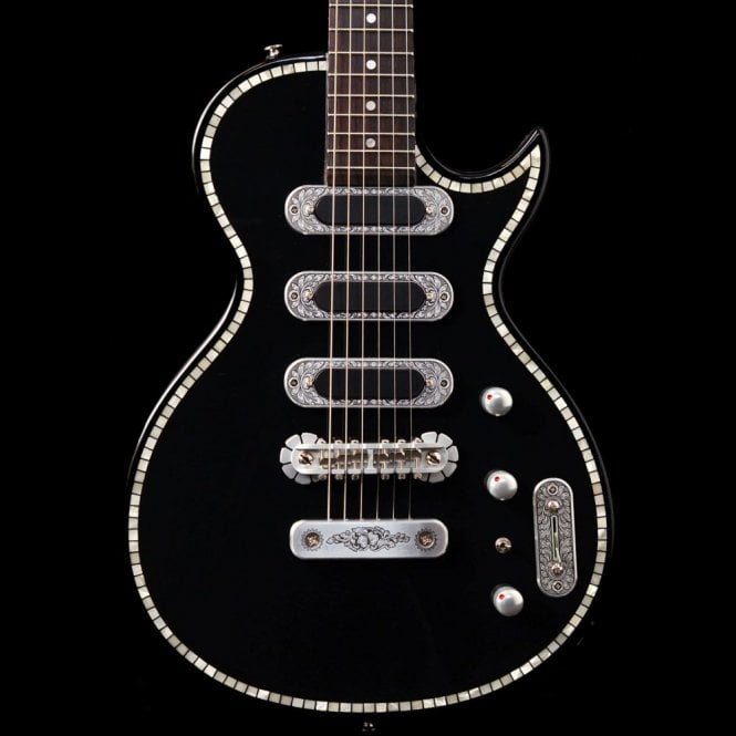 Zemaitis SUA-300S Diamond In Black, Superior Series