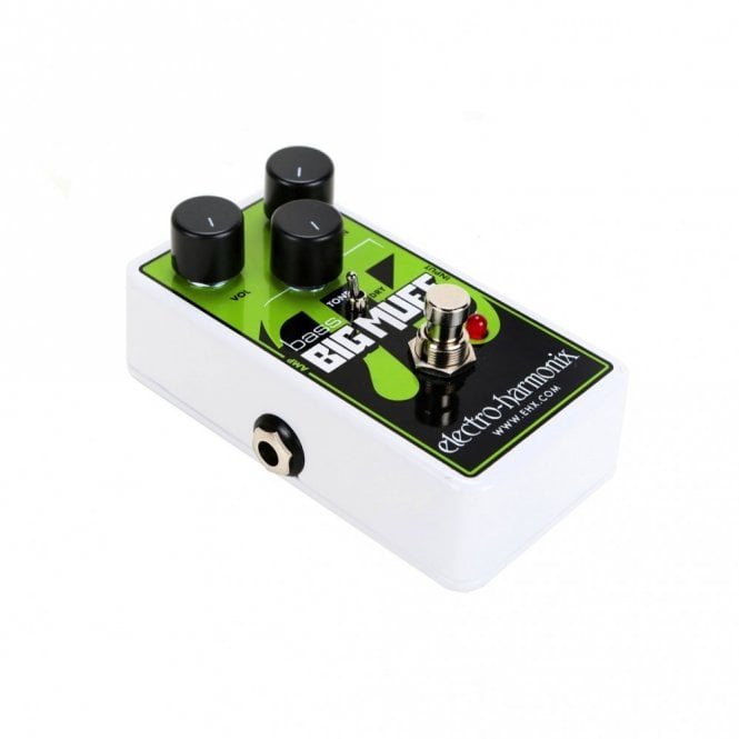 Electro Harmonix Nano Bass Big Muff Pi Distortion / Sustainer Pedal