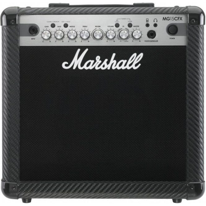 Marshall MG15CFX Carbon Fibre 15 Watt Combo Amplifier w/ Effects