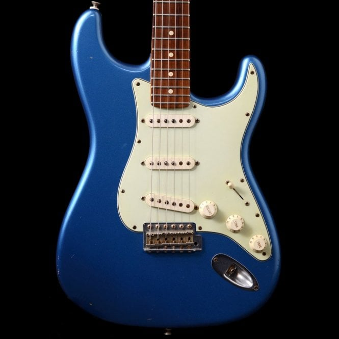 Fender Custom Shop 60's Stratocaster In Lake Placid Blue With Matching Headstock, Pre-Owned