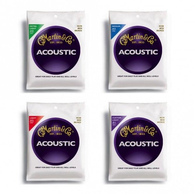 Martin 80/20 Bronze Acoustic Guitar Strings
