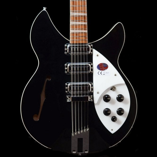 Rickenbacker 1993 Plus 12 String Electric Guitar - Jetglo