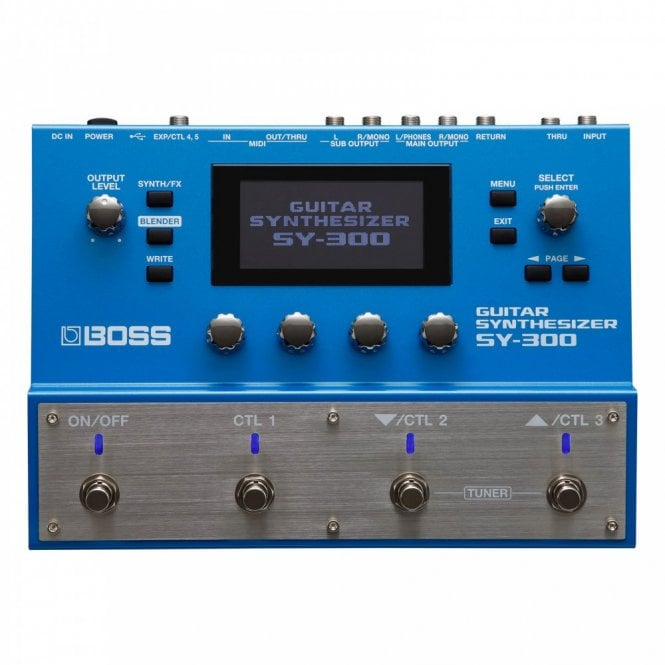 Boss SY-300 Guitar Synthesizer Multi Effects Processor