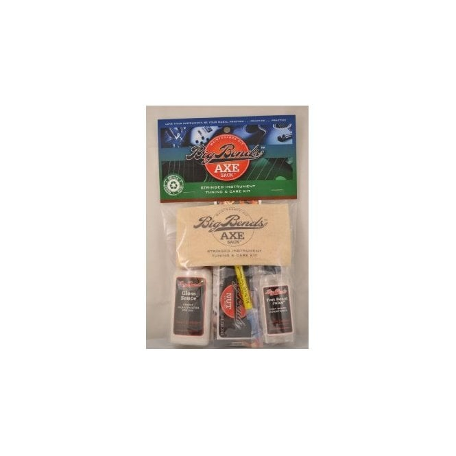 Big Bends Axe Sack, Guitar Maintenance Pack