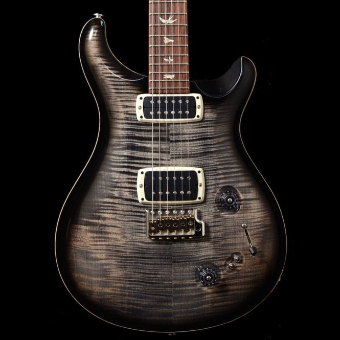 PRS 408 Maple Top In Charcoal Burst, 10-Top