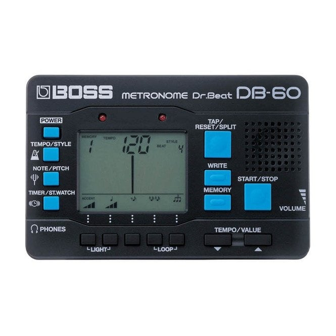 Boss DB-60 Dr Beat Digital Programmable Metronome