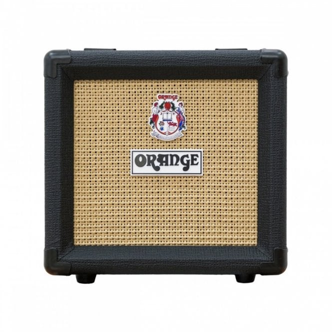 "Orange Micro Dark 1x8"" Speaker Cabinet (PPC108-BK)"