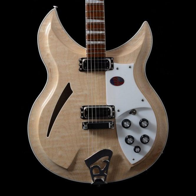 Rickenbacker 381V69 6-String Electric Guitar In Mapleglo