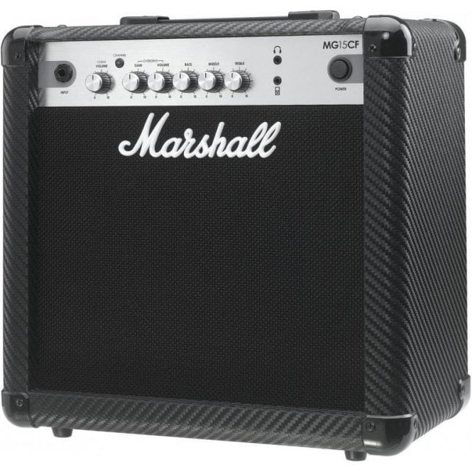 Marshall MG15CF 15 Watt Carbon Fibre Electric Guitar Combo Amplifier
