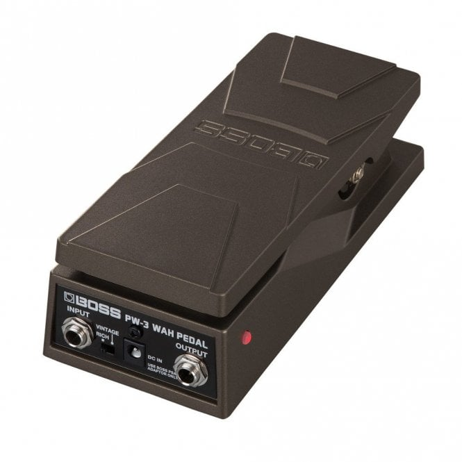Boss PW-3 Compact Dual Mode Wah Effects Pedal