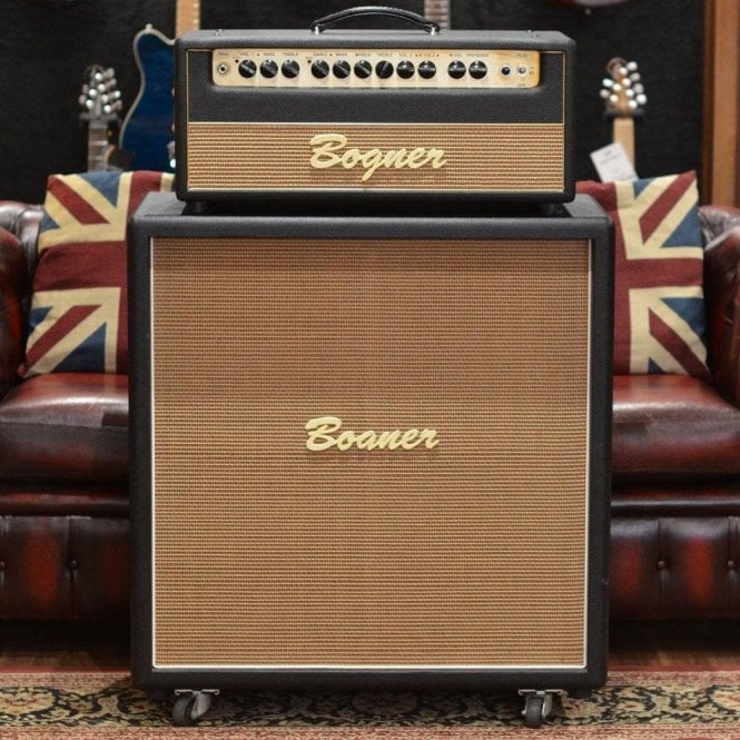 "Bogner Shiva EL34 80w Head & 4x12"" Straight Cabinet, Pre-Owned"
