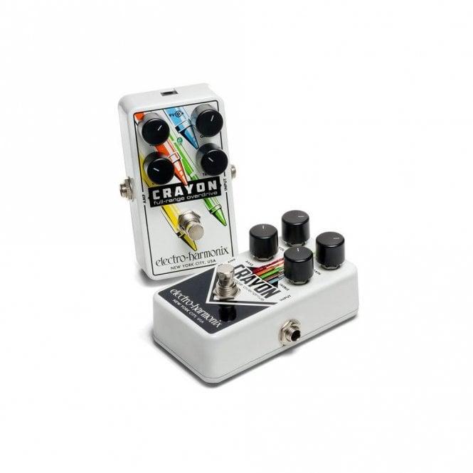 Electro Harmonix Crayon Full Range Overdrive Effects Pedal (76 & 69)