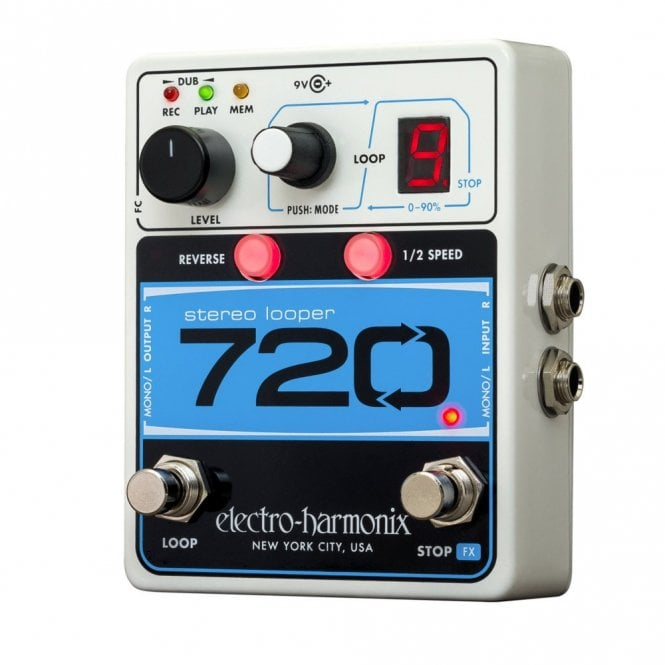 Electro Harmonix 720 Stereo Looper Guitar Effects Pedal