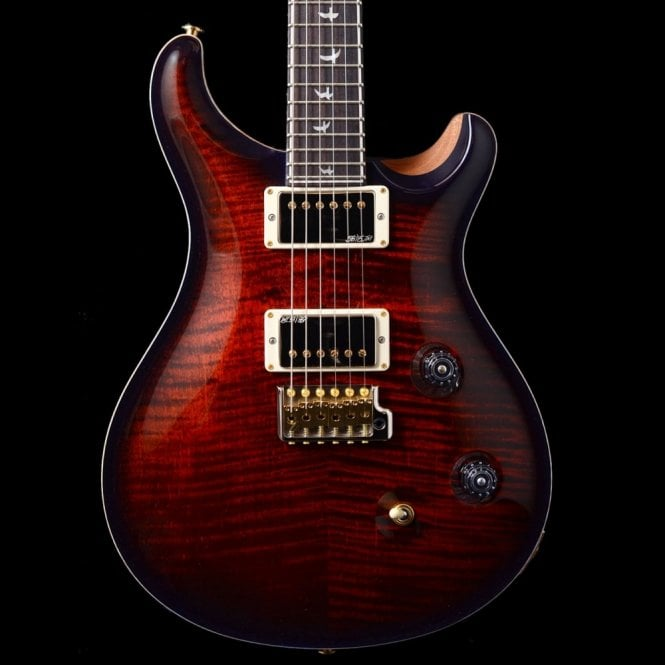 PRS Wood Library 'Rainbow Run ' Custom 24 Ltd - Fire Red Blueburst - Solid Rosewood Neck
