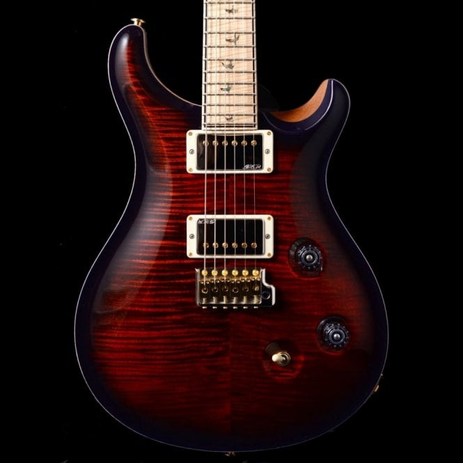 PRS Wood Library 'Rainbow Run ' Custom 24 Ltd - Fire Red Over Purple - Maple Neck