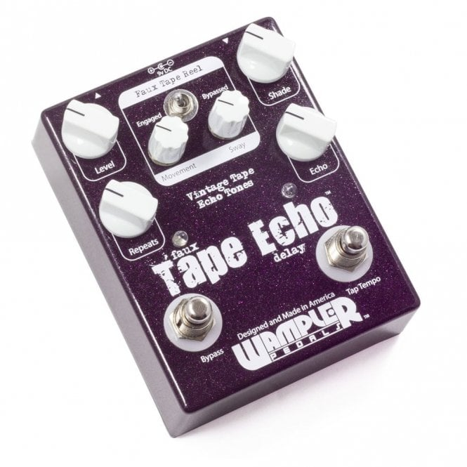 Wampler Faux Tape Echo Vintage Analog Delay Pedal - Discontinued Model