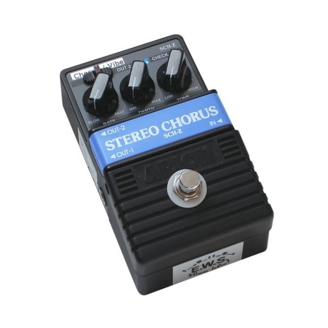 E.W.S Arion Modified SCH-Z Chorus & Vibe Pedal