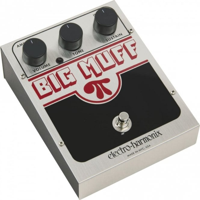 Electro Harmonix Big Muff Pi Distortion / Sustainer Fuzz Pedal
