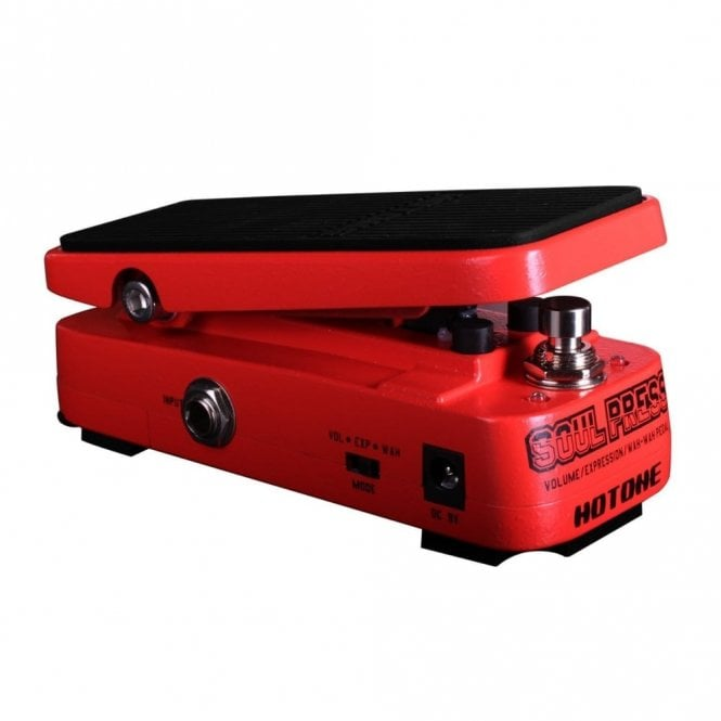 Hotone Soul Press Volume, Expression and Wah Micro Effects Pedal