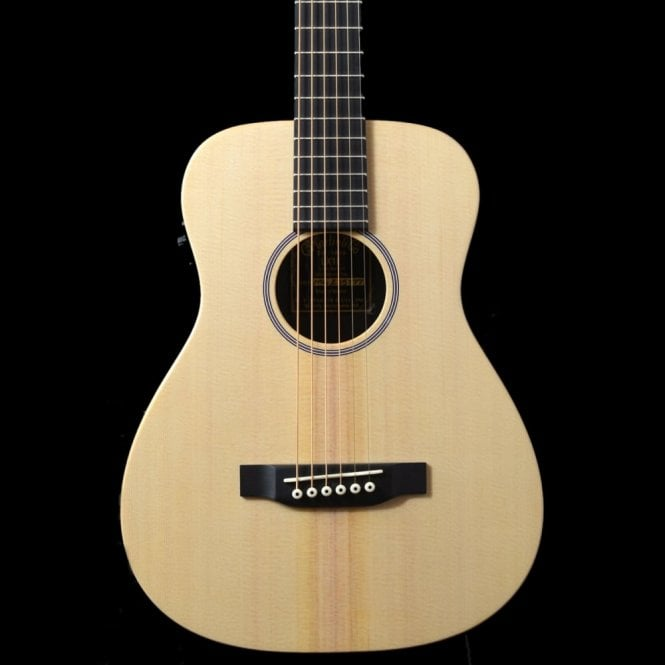 Martin LX1E Little Martin Electro-Acoustic Travel Guitar with Gig Bag