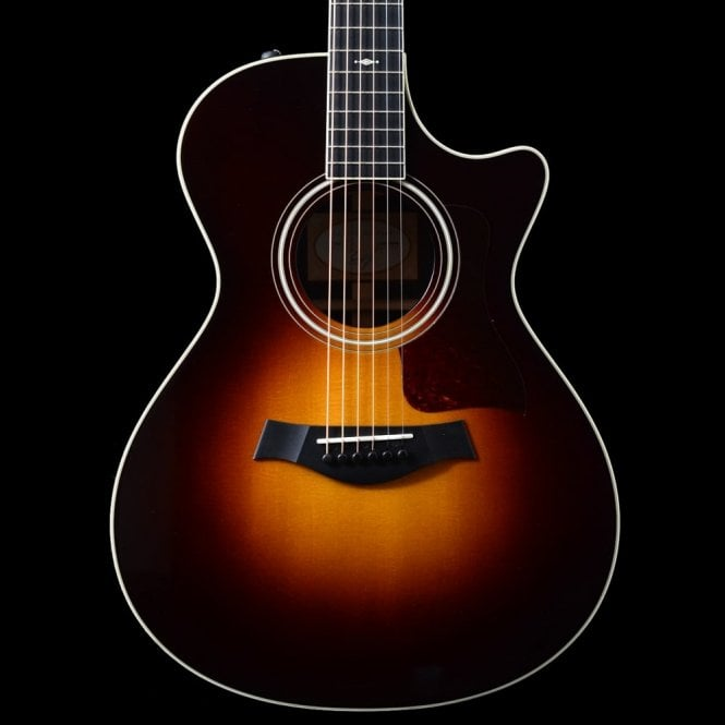 Taylor 712ce Grand Concert Electro Acoustic Guitar In Vintage Sunburst