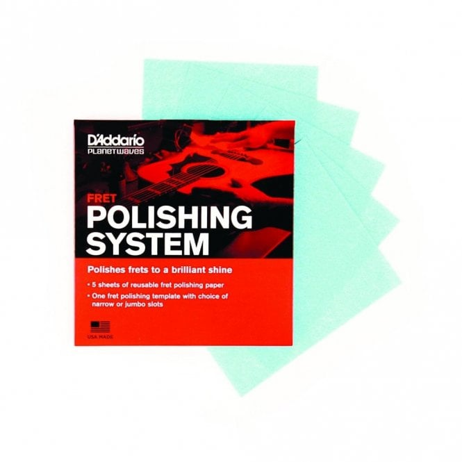 D'Addario Planet Waves Fret Polishing System