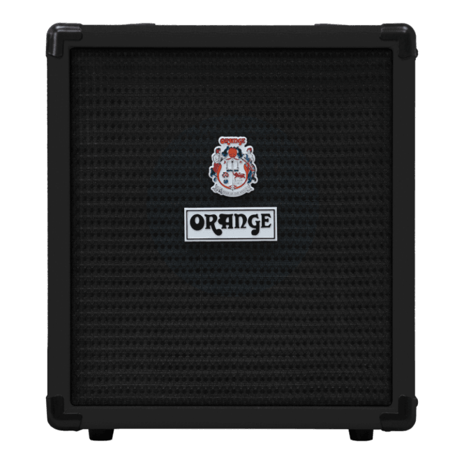 Orange Crush 25 Watt Bass Guitar Amplifier Combo in Black