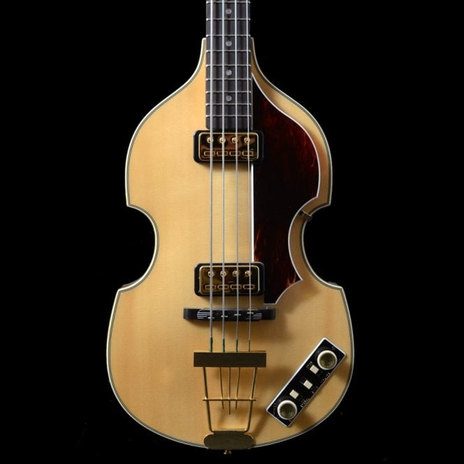 Hofner 5000/1 Rosewood Violin Bass 2008 Model, Blonde