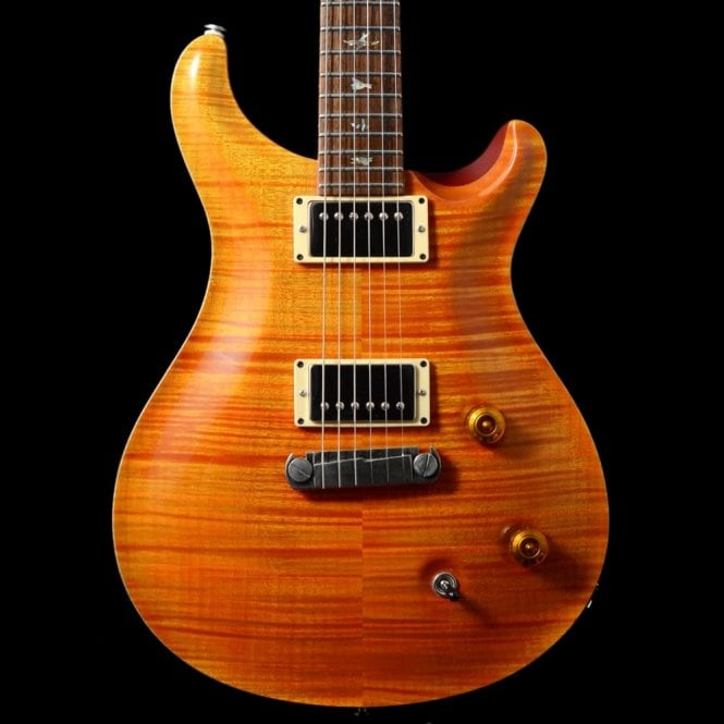 PRS Custom 22 10-Top In Orange, 1997 Pre-Owned Electric Guitar