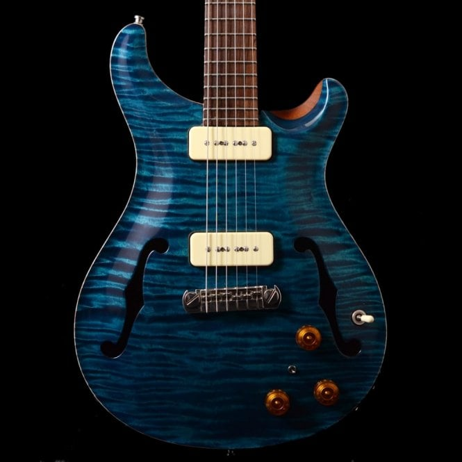 PRS Private Stock #253 Hollowbody One-Piece Top In Turquoise, Pre-Owned