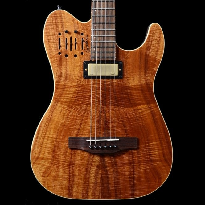 Godin Acousticaster 40th Anniversary Guitar Extreme Koa, Pre-Owned