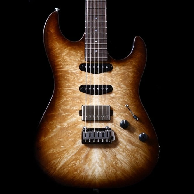 Patrick James Eggle '96 Drop Top Custom With Burl Top #15220 Electric Guitar