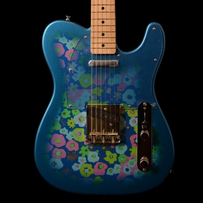 Fender FSR Japan '69 Reissue Telecaster, Blue Flower