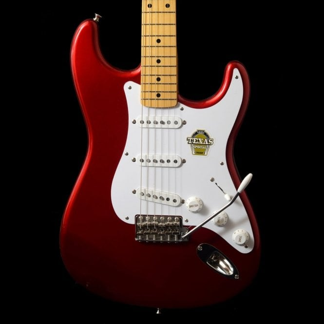 Fender FSR Japan Classic 50's Texas Special Stratocaster, Old Candy Red