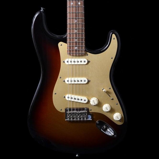 Fender FSR American Standard V-Neck Stratocaster, 3-Tone Sunburst