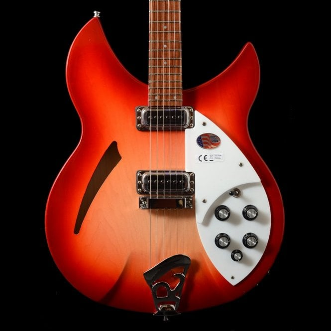 Rickenbacker 330/6 Fireglo 6-String Electric Guitar #16 23731
