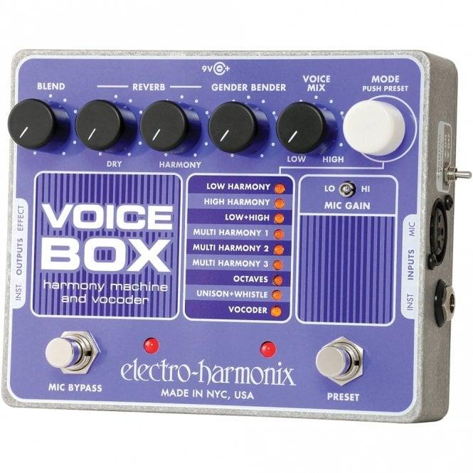 Electro Harmonix Voice Box Vocoder & Harmony Effects Pedal