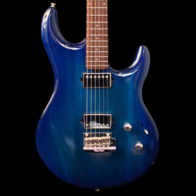 Ernie Ball Music Man Luke III HH Neptune Blue Maple, Pre-Owned