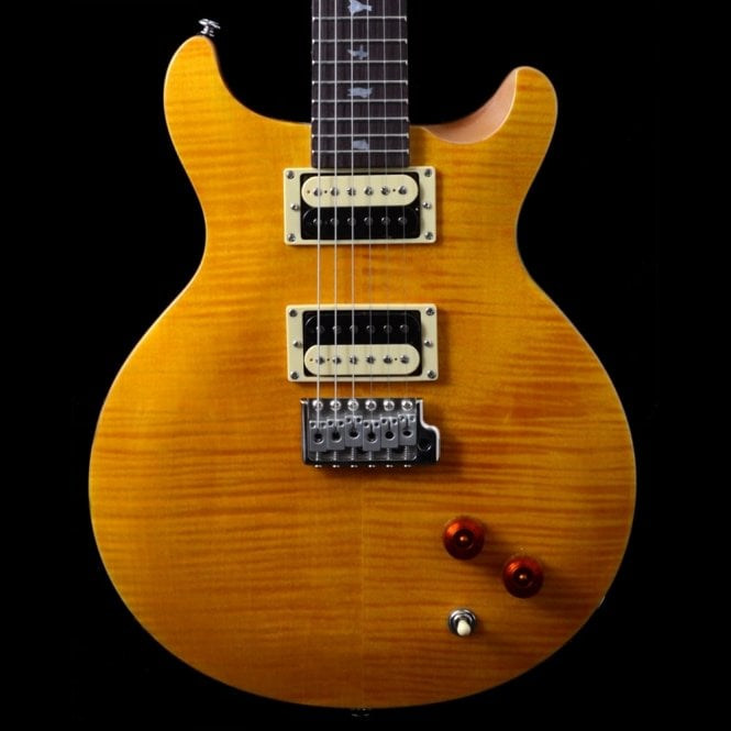 PRS SE Santana Standard Electric Guitar, Santana Yellow, 2017