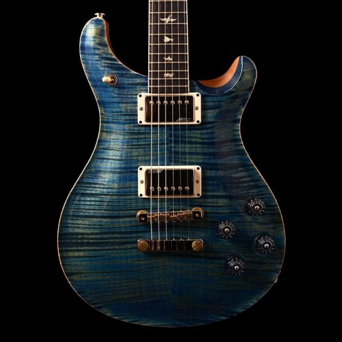 PRS McCarty 594 Wood Library Limited Edition #232703, River Blue