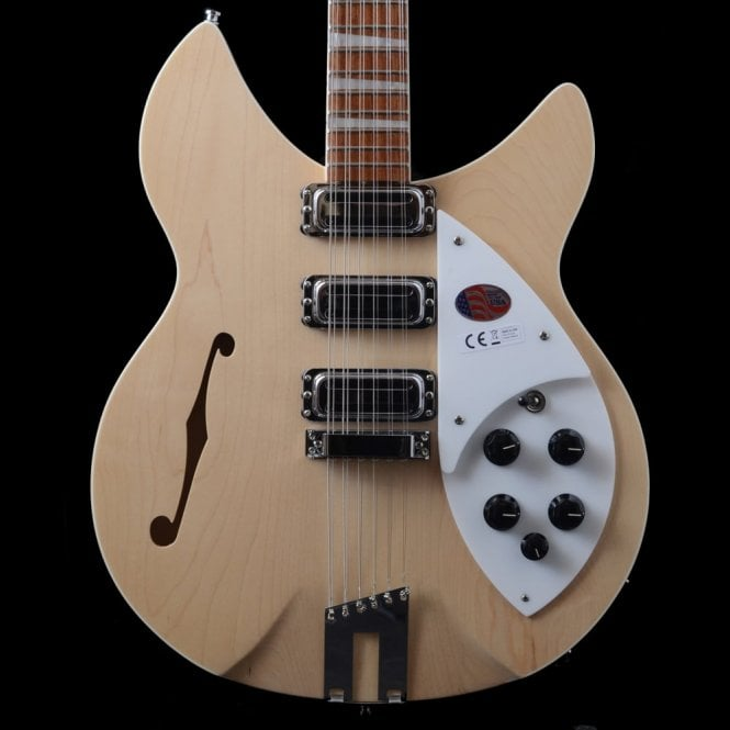 Rickenbacker 1993 Plus 12 String Electric Guitar, Mapleglo