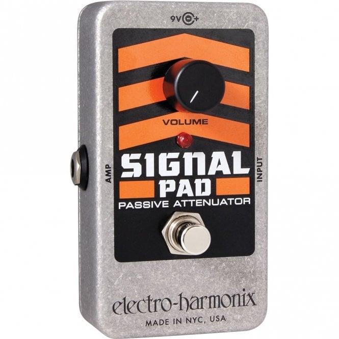 Electro Harmonix Signal Pad Attenuator Guitar Effects Pedal