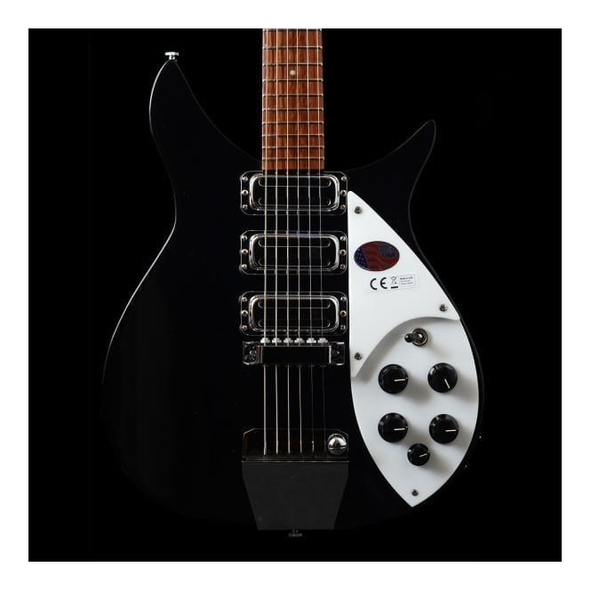 Rickenbacker 325c64 6-String Electric Guitar, Jetglo, New-Old-Stock #15 15675