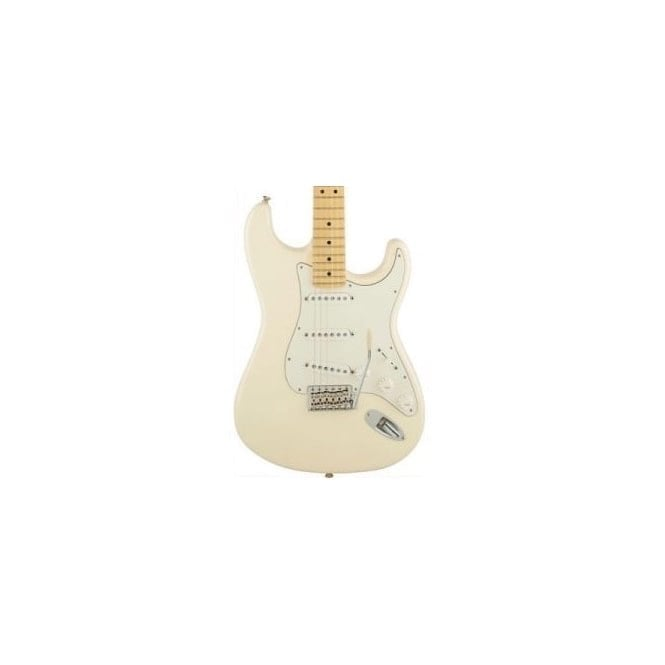 Fender American Special Stratocaster w/ Maple Fingerboard (Olympic White)