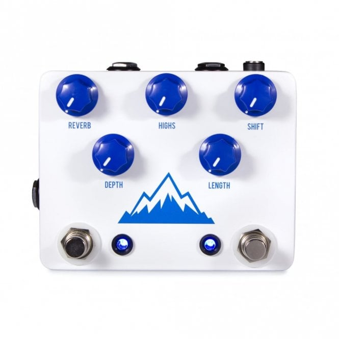 JHS Alpine Reverb Effects Pedal