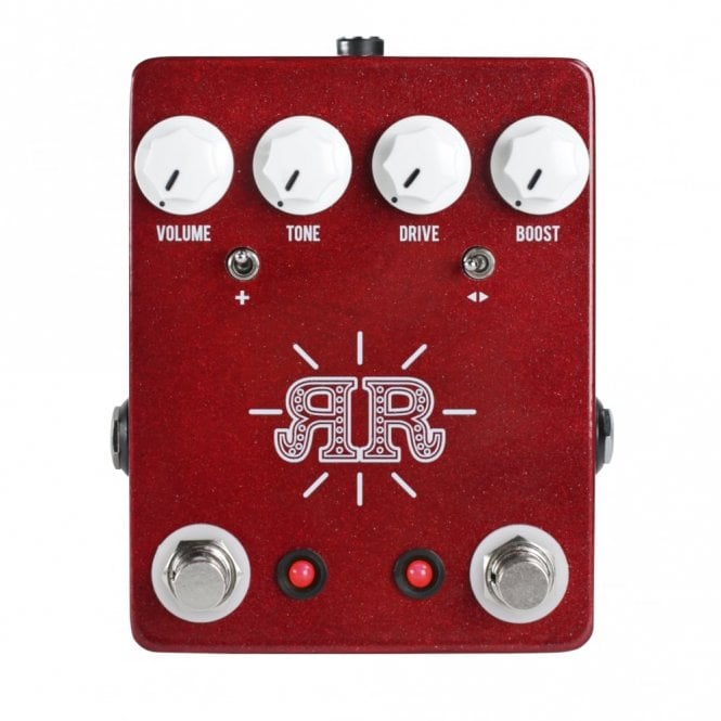 JHS Ruby Red Butch Walker Signature 2-in-1 Overdrive Fuzz & Boost