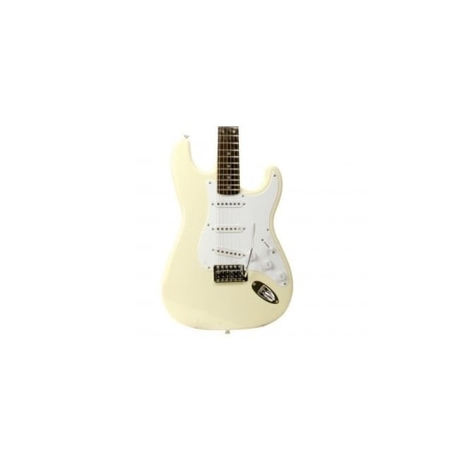 Fender Squier Bullet Strat with Tremolo & Rosewood Fingerboard (Arctic White)