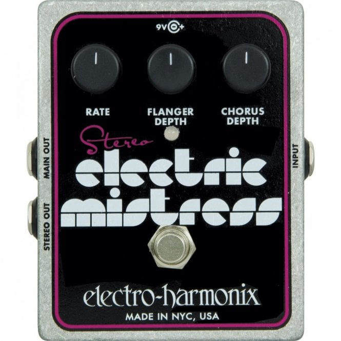 Electro Harmonix Stereo Electric Mistress Chorus / Flanger Guitar Effects Pedal